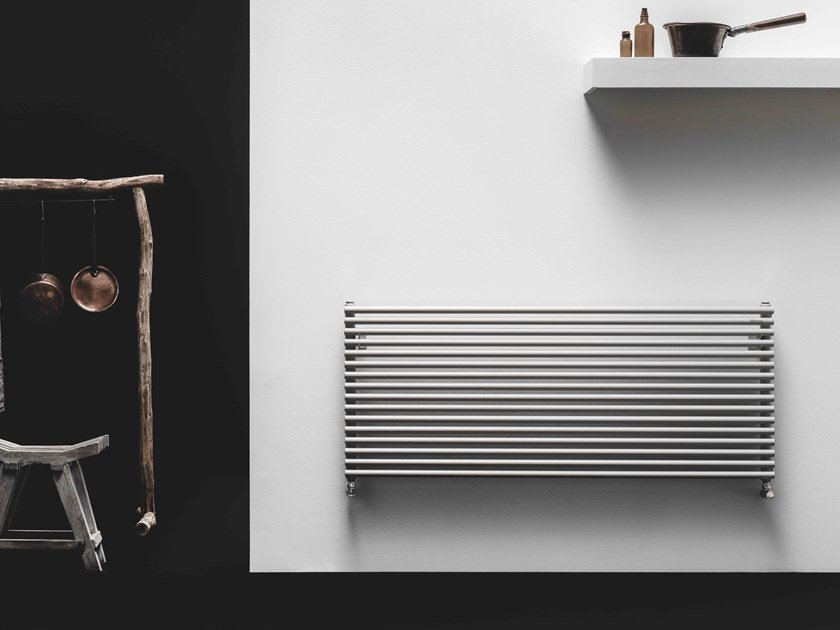 Termoarredo in acciaio al carbonio a parete A_25 by ANTRAX