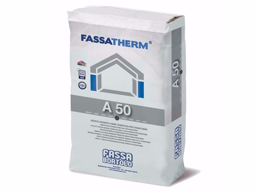 Special fixing for insulation A 50 by FASSA