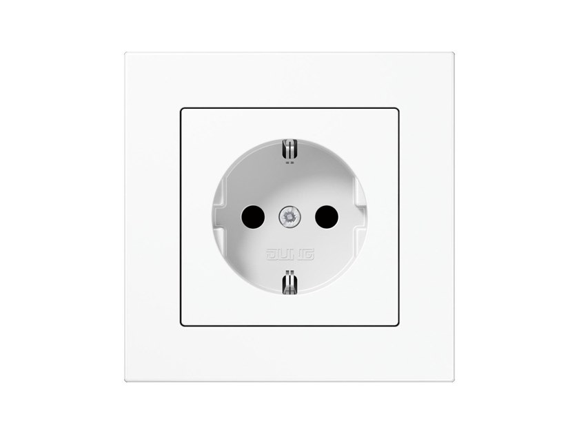 Electrical outlet A 550 SCHUKO | Electrical outlet by JUNG