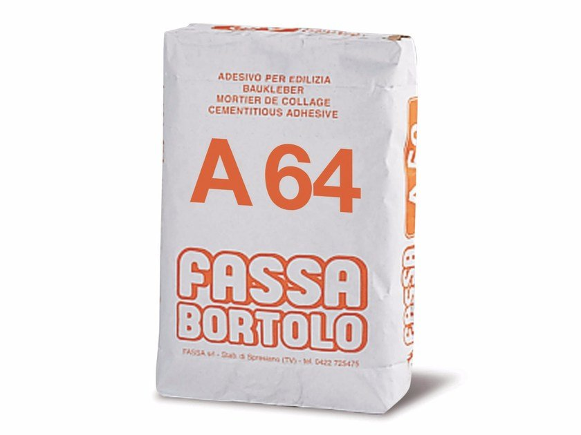 Cement-based glue A 64 by FASSA