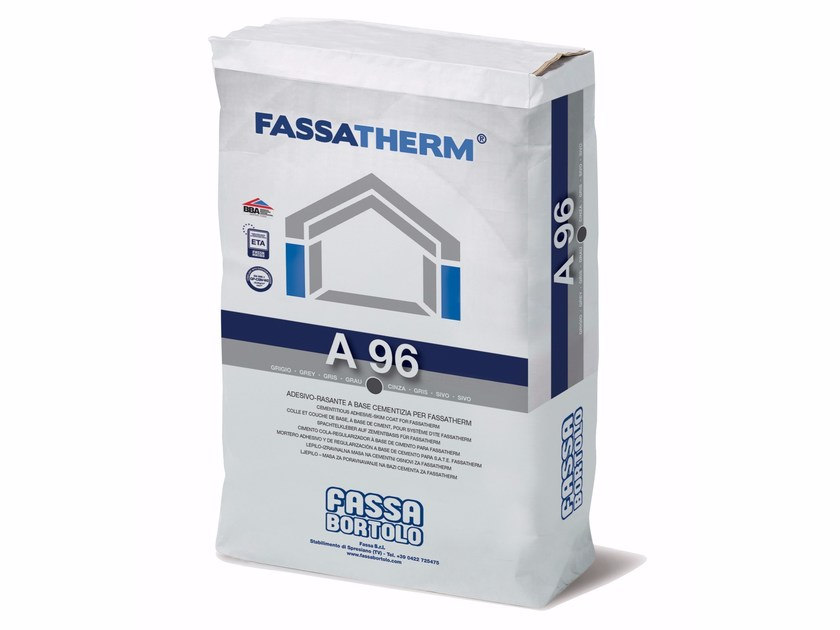 Special fixing for insulation A 96 by FASSA