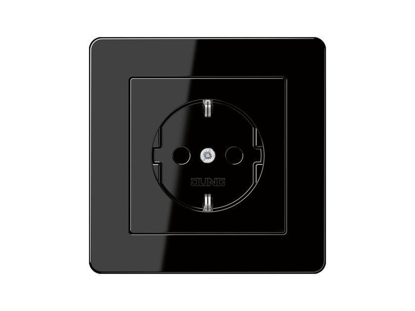Electrical outlet A FLOW SCHUKO | Electrical outlet by JUNG