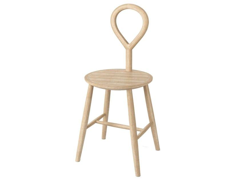 Ash bathroom stool A-WOOD | Bathroom stool by Alice Ceramica