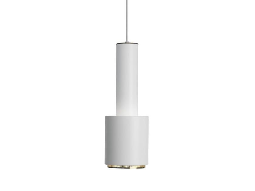 "Steel pendant lamp A110 ""HAND GRENADE""   Pendant lamp by Artek"
