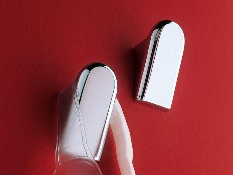 Porta accappatoio in ottone cromato A38210 | Porta accappatoio by INDA®