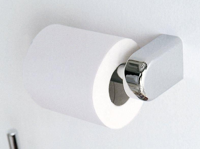 Chromed brass toilet roll holder A38250 | Toilet roll holder by INDA®