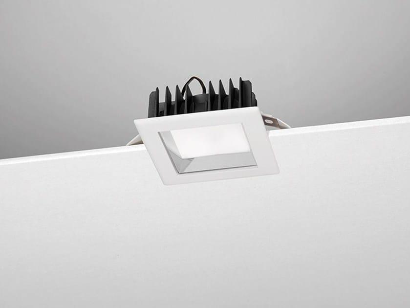 Faretto a LED quadrato da incasso A40 by NOBILE ITALIA