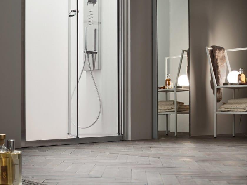 A6   Box doccia con porta a soffietto