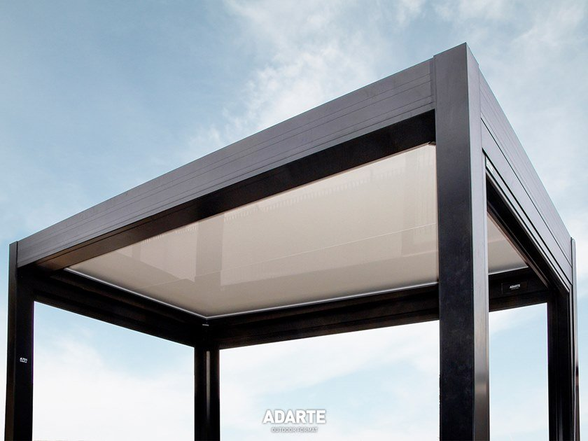 Aluminium pergola with thermal insulation panels A701 STABYLA by ADARTE