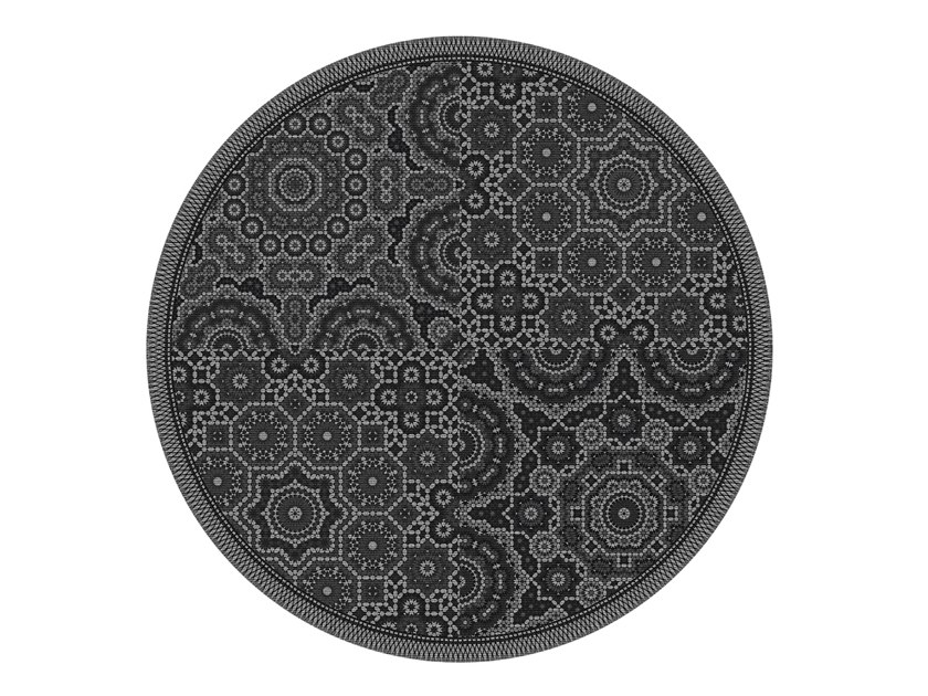 Round rug AARHUS   Round rug by OBJECT CARPET