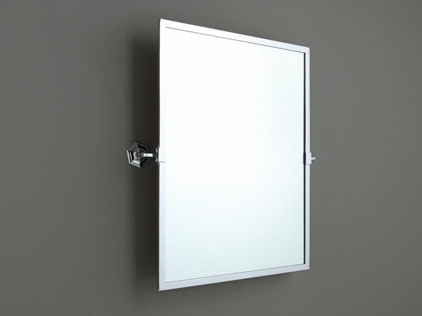 Wall-mounted tilting rectangular mirror AB210M | Framed mirror by BLEU PROVENCE