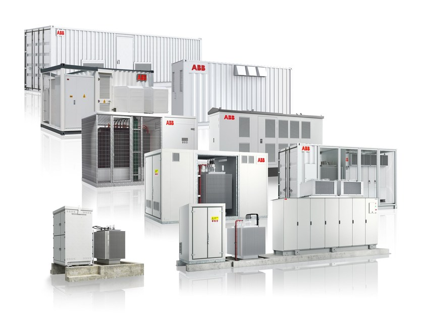 Inverter for photovoltaic system ABB Packaged Solutions by ABB