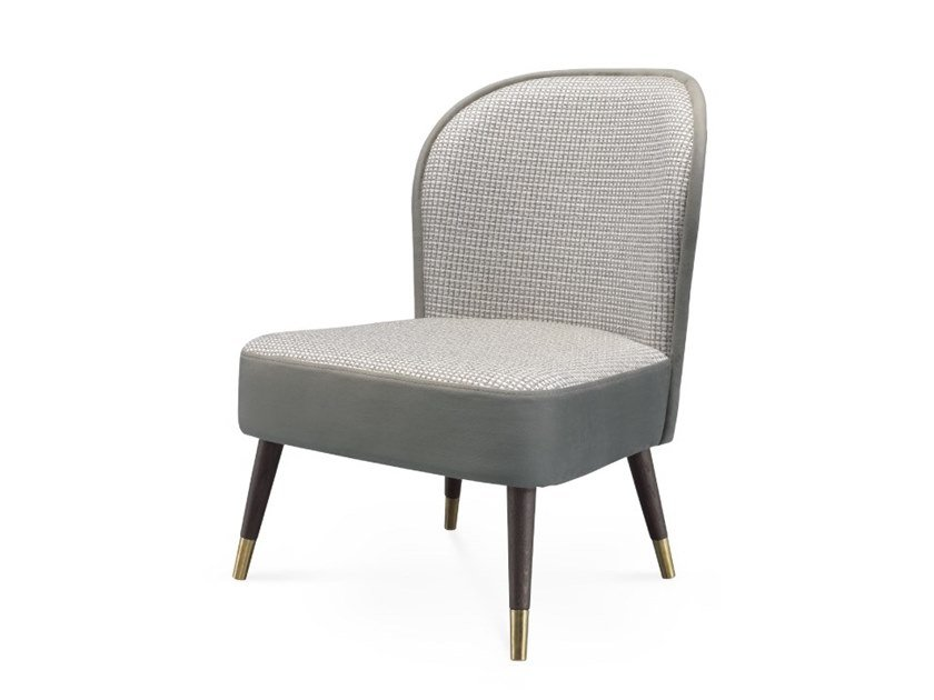 Upholstered fabric easy chair ABBEY   Easy chair by PRADDY