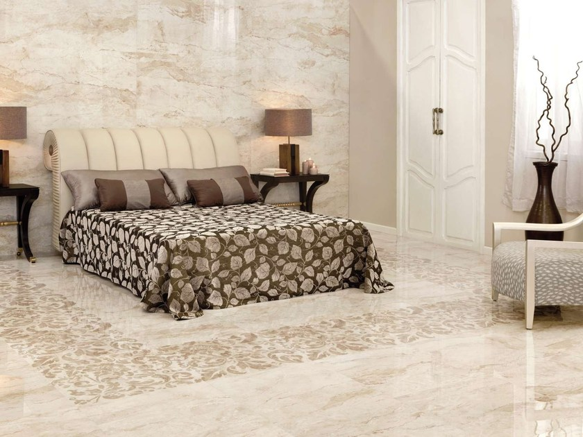 Porcelain stoneware wall tiles / flooring ABBEY by Museum