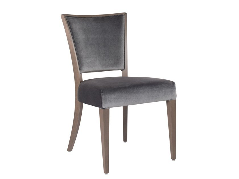 Upholstered fabric chair ABBY SOFT SE02 by New Life