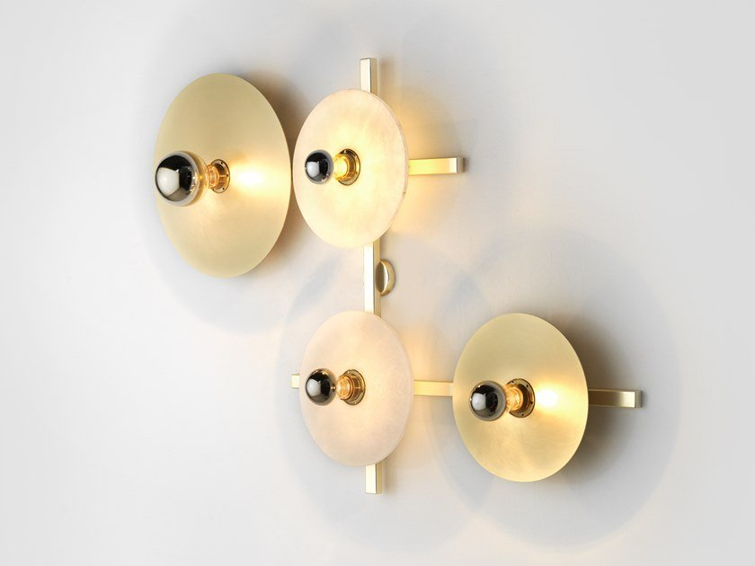 Metal wall lamp ABBY | Wall light by Aromas del Campo