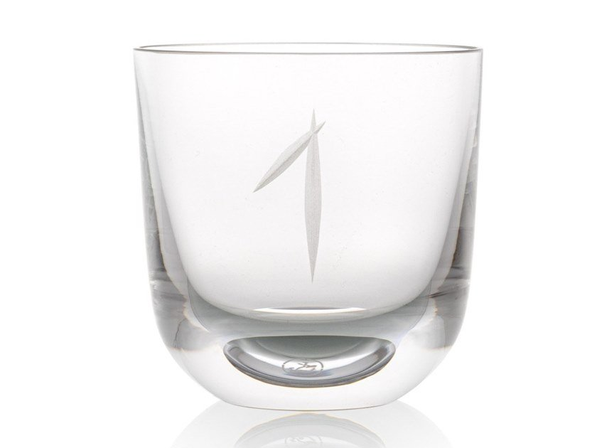Water crystal glass ABC 1 by Rückl