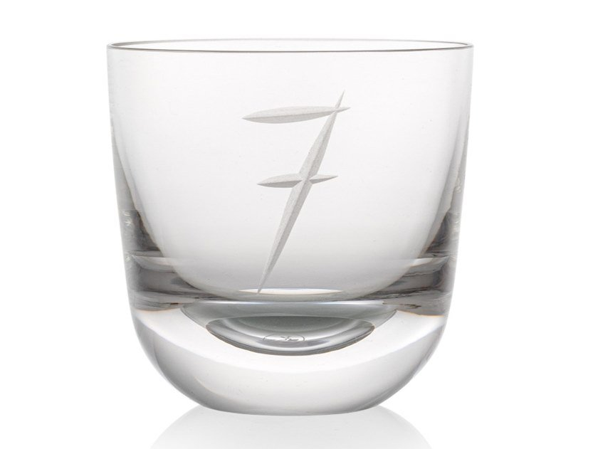 Water crystal glass ABC 7 by Rückl