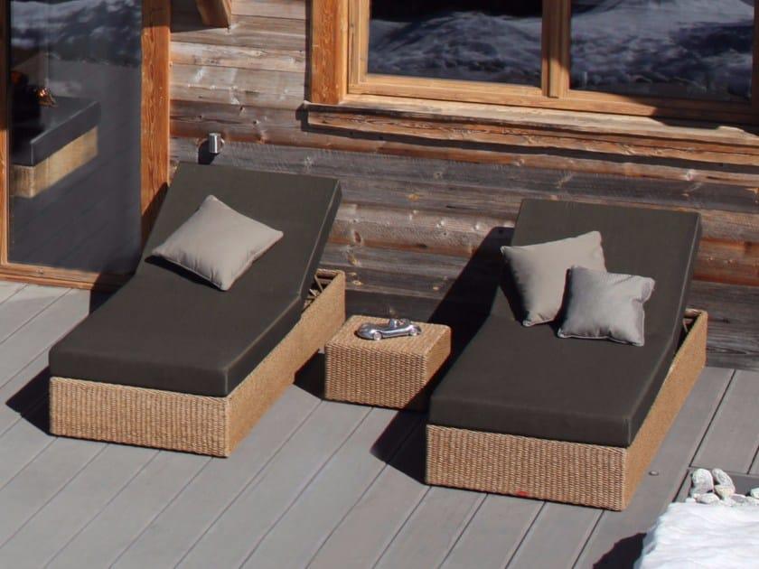 Tavolino Rattan Da Giardino.Tavolino Basso Da Giardino Quadrato In Rattan Abondo Tavolino