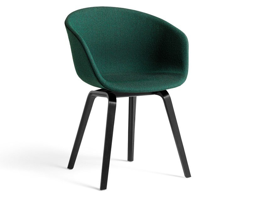 Chair with armrests ABOUT A CHAIR AAC 23 by Hay