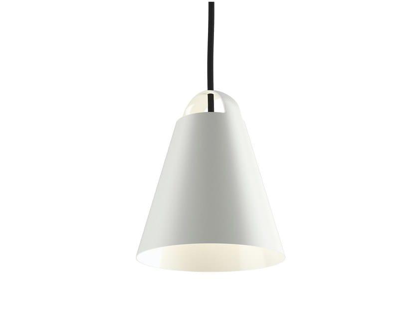 Direct light aluminium pendant lamp ABOVE by Louis Poulsen