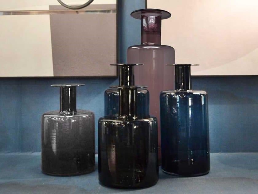 Glass vase ABSOLUTE by Adriani e Rossi edizioni