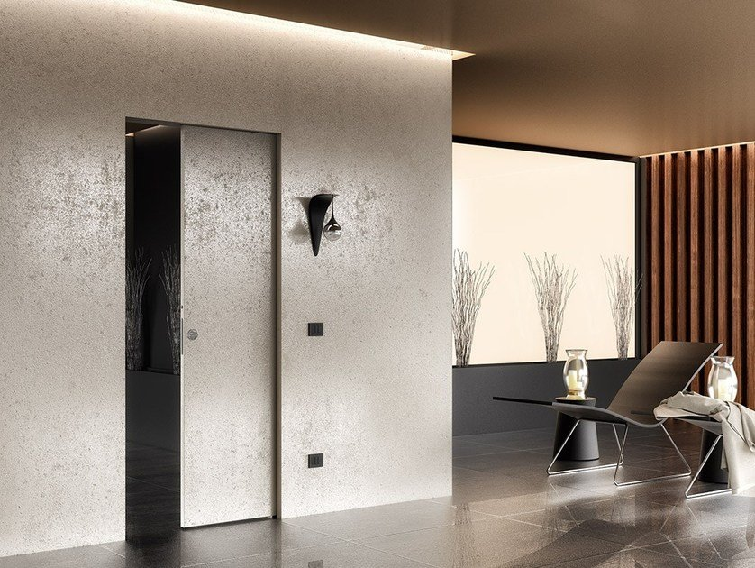 Counter frame for single sliding door ABSOLUTE ENERGY single door by Ermetika
