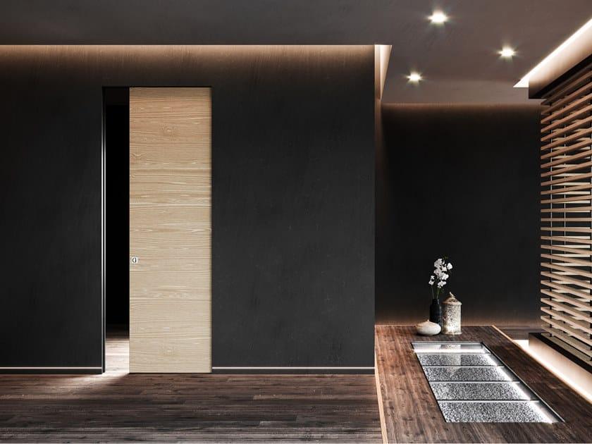Controtelaio per porta scorrevole filo muro ABSOLUTE EVO singolo by Ermetika