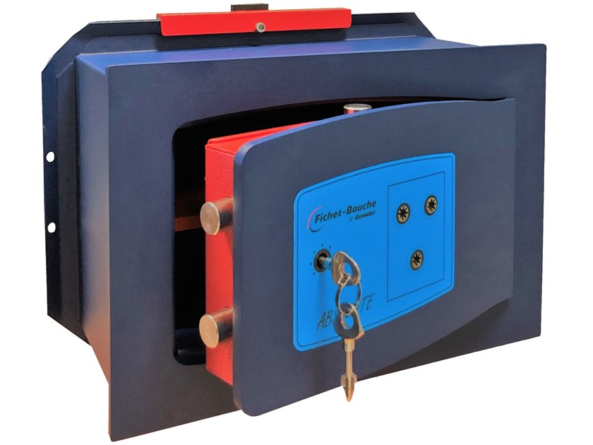 Built-in mechanical Safe with key ABSOLUTE by Gunnebo