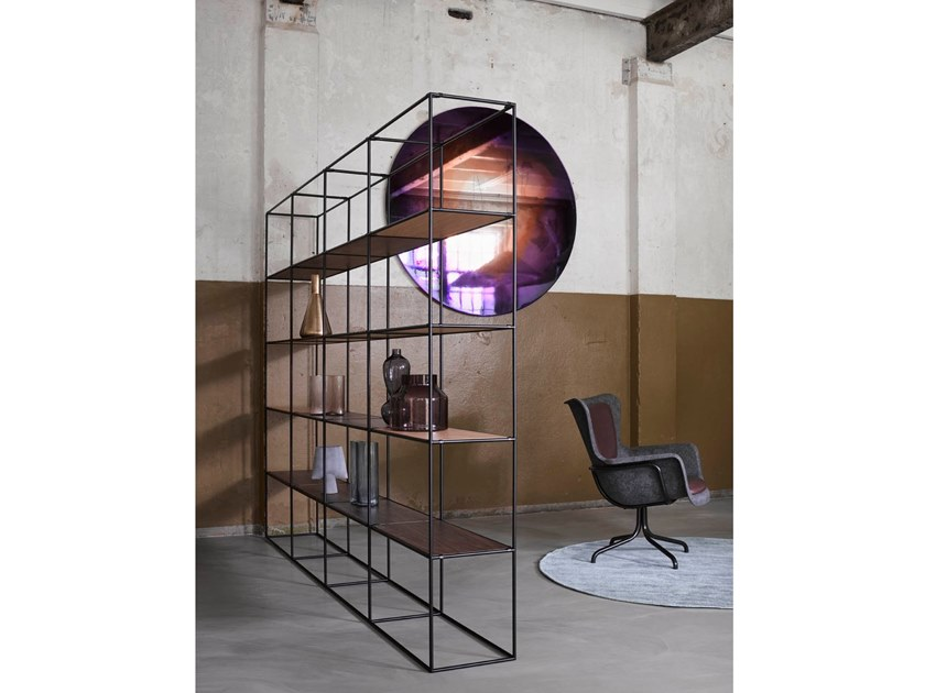 Open freestanding bookcase ABSTRACTA SYSTEM® | Bookcase by De Machinekamer