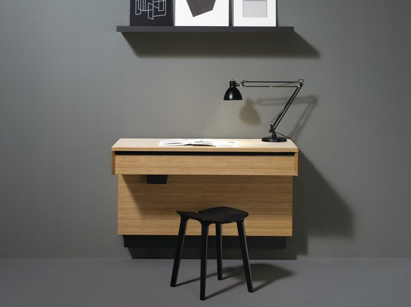 Bamboo kitchen / secretary desk AC 01 by Sanwa Company