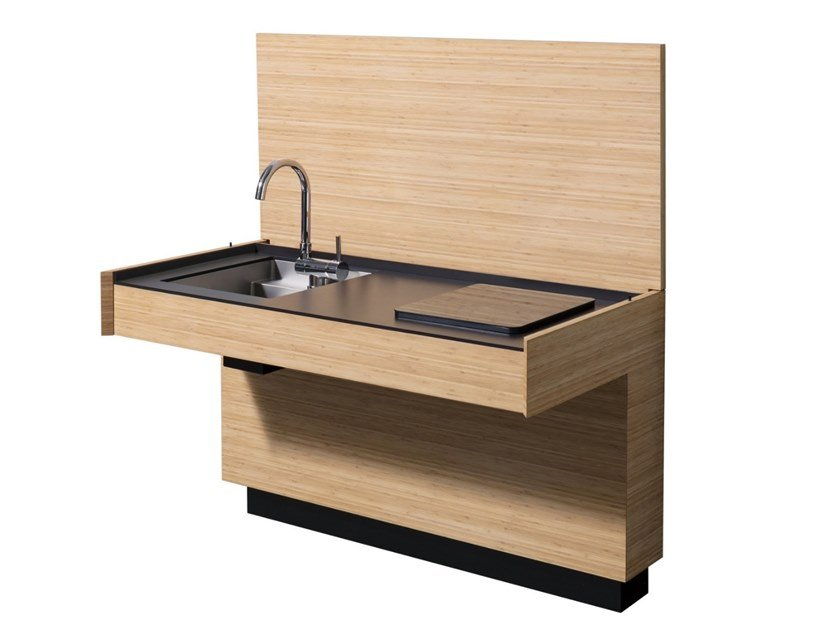Cucina / scrittoio in bambù AC 01 By Sanwa Company