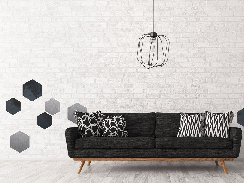 Wall tiles AC02 STICK-ON by Planium