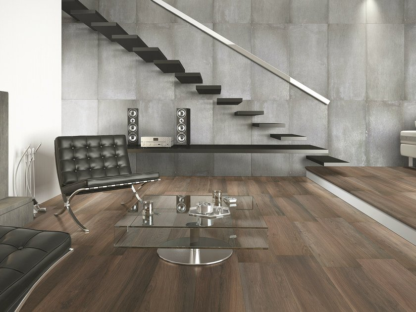 Porcelain stoneware flooring with wood effect ACANTO | Flooring by Serenissima
