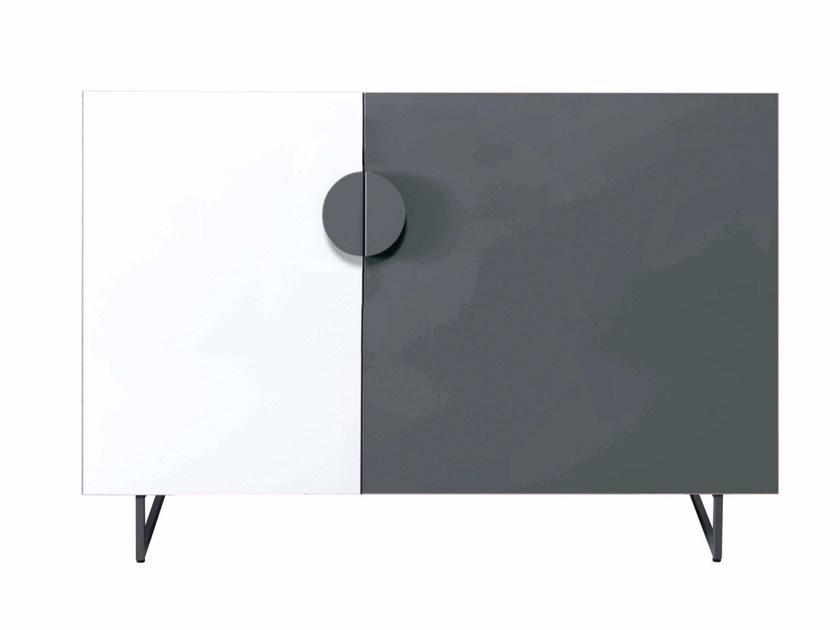 Steel sideboard with doors ACAPULCO by AZEA