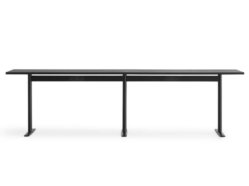 Tavolo alto rettangolare componibile ACCA | Tavolo alto by Lapalma