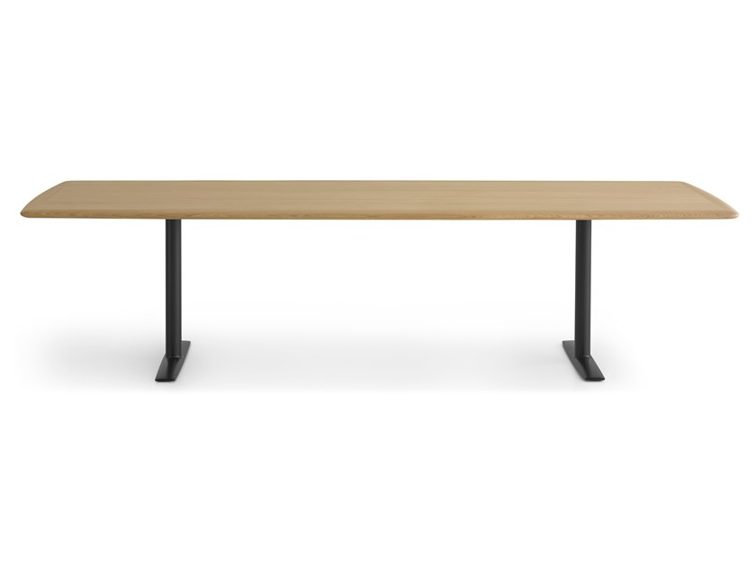 Rectangular meeting table ACCA | Meeting table by Lapalma