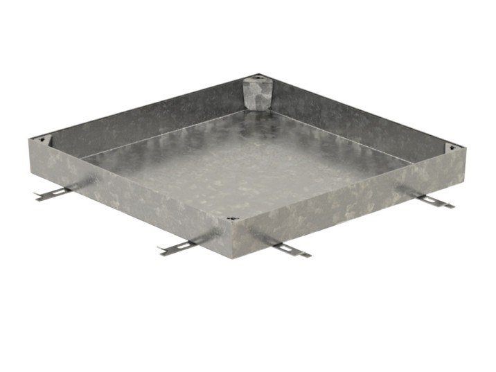 Manhole cover and grille for plumbing and drainage system ACCESS COVER PAVING SG - 80 MM - B125 by ACO PASSAVANT