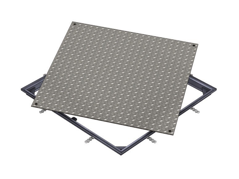 Manhole cover and grille for plumbing and drainage system ACCESS COVER SOLID GS - A15 by ACO PASSAVANT