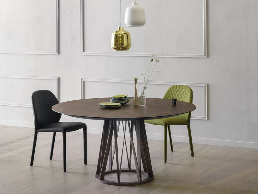 Round dining table ACCO | Round table by Miniforms
