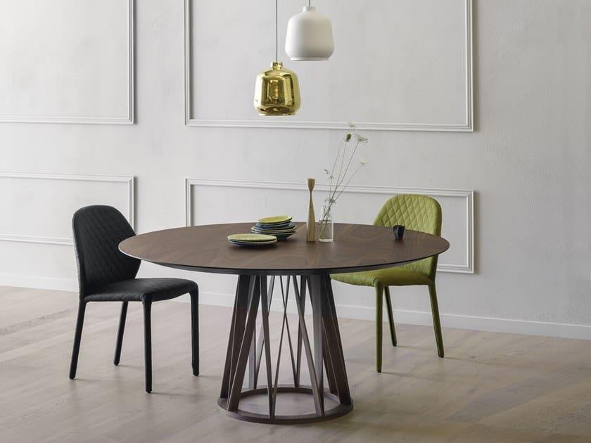 Acco Tavolo Rotondo Collezione Acco By Miniforms Design Florian Schmid