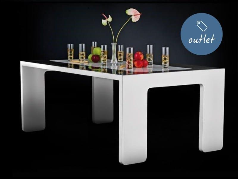 Tavolo rettangolare in marmo ACCOLGO by Lamberti Design