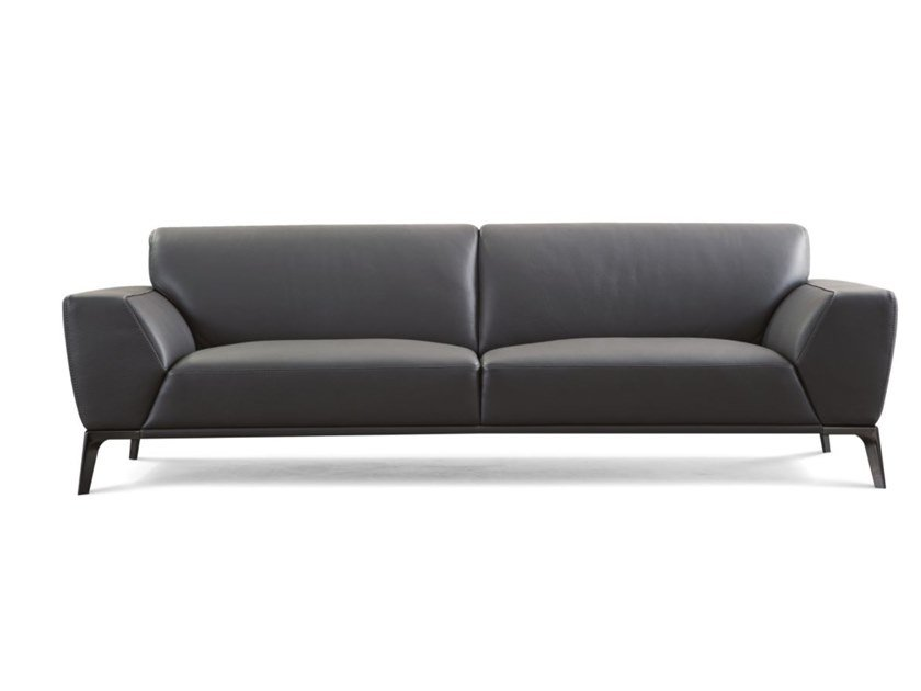 3 seater leather sofa ACCORD by ROCHE BOBOIS
