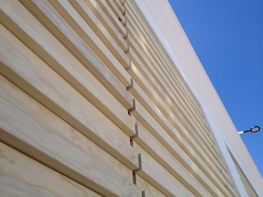 Rivestimento di facciata in Accoya® ACCOYA® CLADDING by Sapiens