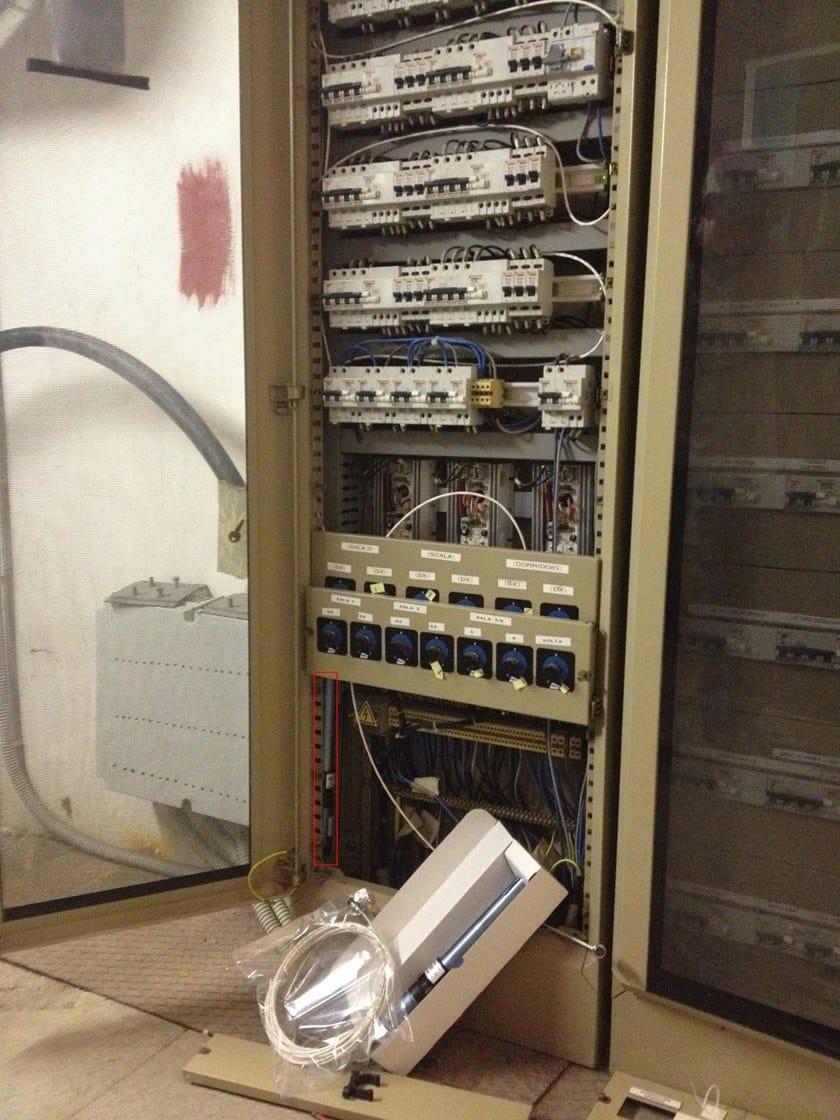 ACFE45 Generatore aerosol ACFE45 in quadro elettrico