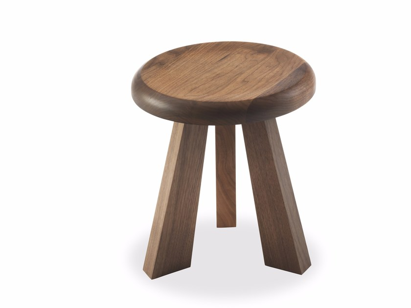 Round solid wood coffee table ACHILLE by Riva 1920