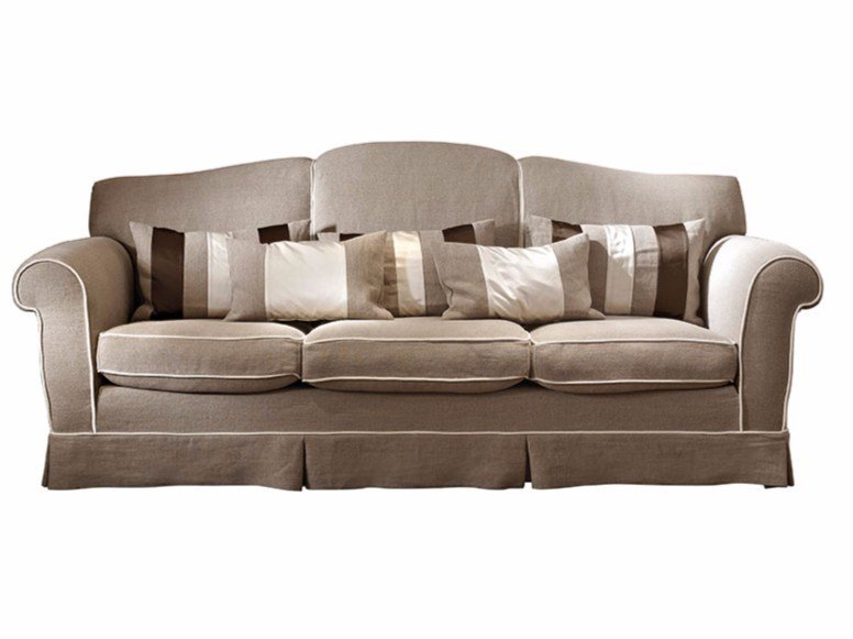 3 seater fabric sofa ACHILLE by SOFTHOUSE