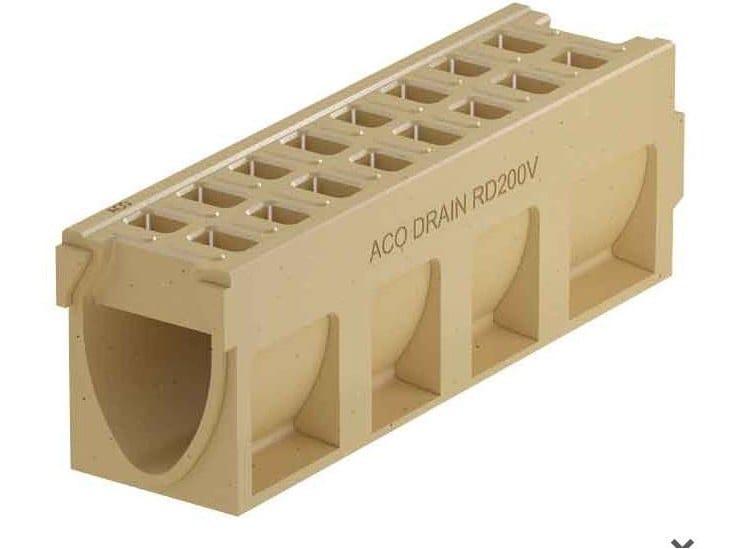 ACO DRAIN® MONOBLOCK RD 200 V