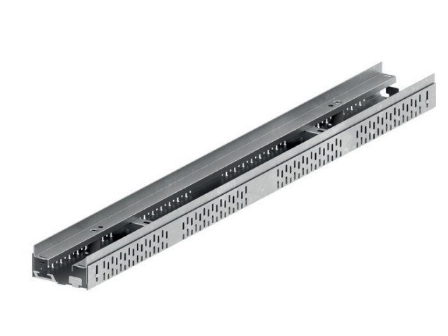Steel Drainage channel and part ACO PROFILINE 100 by ACO PASSAVANT