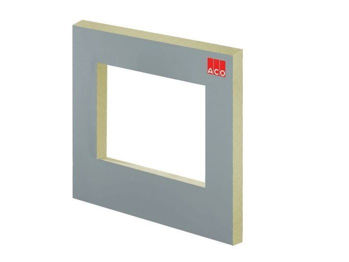 Expanded polyurethane thermal insulation panel ACO THERM BLOCK by ACO PASSAVANT